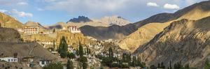 Lamayuru Village, Indus Valley, Nr Leh, Ladakh, India by Peter Adams