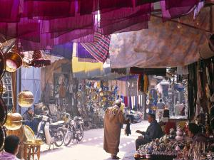 Marrakesh Market, Morocco by Peter Adams