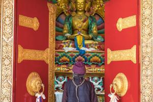 Matho Monastery, Indus Valley Nr Leh, Ladakh, India by Peter Adams