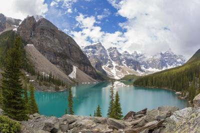 Moraine Lake and Valley of the Ten Peaks, Banff NP, Alberta, Canada by Peter Adams