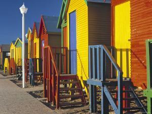 Muizenburg, False Bay, Cape Town, South Africa by Peter Adams