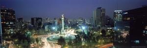 Night Skyline of Mexico City, Mexico by Peter Adams