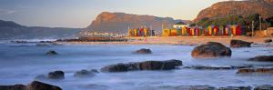 Panorama of Muizenburg, False Bay, Cape Town, South Africa by Peter Adams