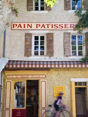 Patisserie, Villes-S-Auzon, Vaucluse, Provence, France by Peter Adams