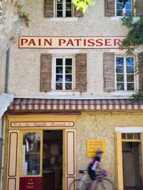Patisserie, Villes-S-Auzon, Vaucluse, Provence, France by Peter Adams