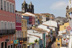 Pelourinho, Salvador, Bahia, Brazil by Peter Adams