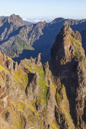 Pico Do Arieiro, Madeira, Portugal by Peter Adams