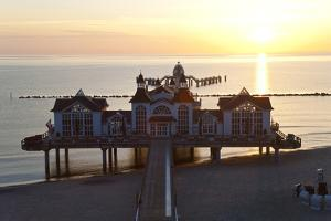 Pier at Sellin, Rugen Island, Mecklenburg-Vorpommern, Germany by Peter Adams