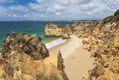 Praia Dos Tres Irmaos Beach, Alvor, Algarve, Portugal, Europe by Peter Adams