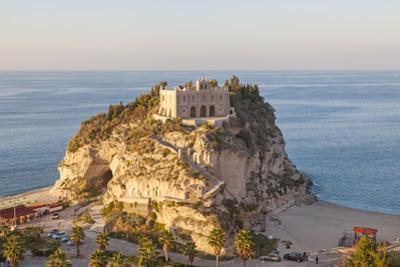 Santa Maria Del Isola Monastery, Tropea, Calabria by Peter Adams