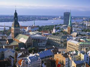Skyline of Riga, Latvia by Peter Adams