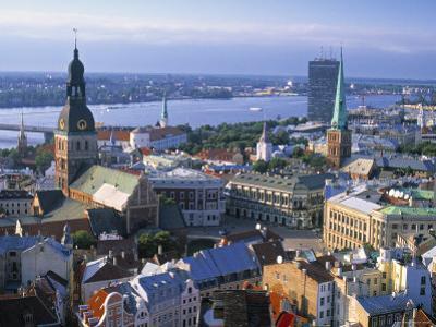 Skyline of Riga, Latvia
