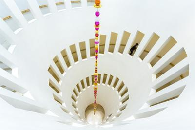 Spiral staircase, Leeum, Samsung Museum of Art, Seoul, South Korea by Peter Adams