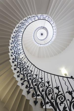 Spiral Staircase, the Queen's House, Greenwich, London, UK by Peter Adams