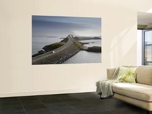 Storseisundbrua Bridge, the Atlantic Road, Romsdal, Norway by Peter Adams