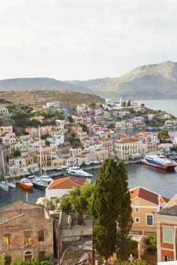Symi Town, Symi Island, Dodecanese Islands, Greece by Peter Adams