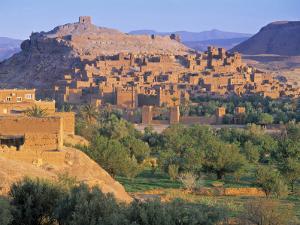 Tafraout, Anti Atlas Mountains, Morocco by Peter Adams