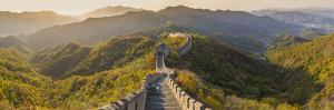 The Great Wall at Mutianyu Nr Beijing in Hebei Province, China by Peter Adams