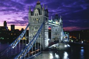 Tower Bridge in London by Peter Adams