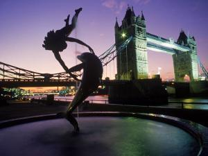 Tower Bridge, London, England, UK by Peter Adams
