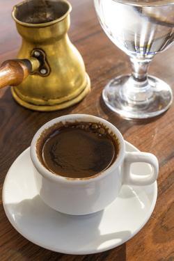 Turkish Coffee, Jordan by Peter Adams