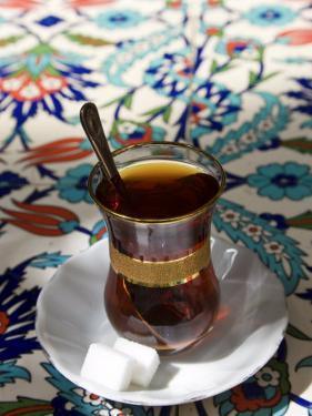 Turkish Tea, Istanbul, Turkey by Peter Adams