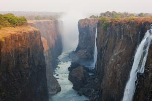 Victoria Falls, Zambia by Peter Adams