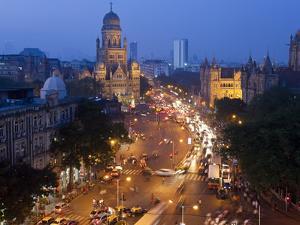 Victoria Terminus or Chhatrapati Shivaji Terminus (Cst), Mumbai (Bombay), India by Peter Adams
