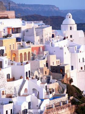 View of Santorini, Greece by Peter Adams
