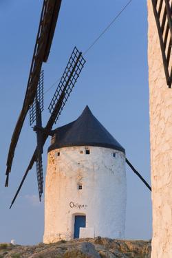 Windmills in Ciudad Real Province, Castilla La Mancha, Spain by Peter Adams
