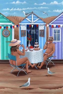 Beach Huts Afternoon Teas by Peter Adderley