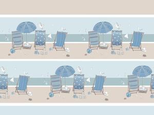 Deckchairs by Peter Adderley