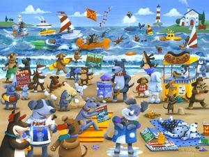 Dogs Beach by Peter Adderley