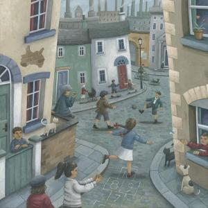 Hopscotch Down the Hill by Peter Adderley
