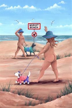 Nudist Beach by Peter Adderley