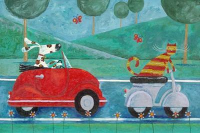 On the Road with Duke and Sweetpea by Peter Adderley
