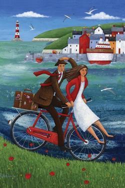 Seaside Bike Ride by Peter Adderley