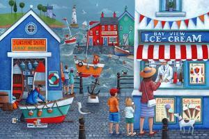 Seaside Ice Creams by Peter Adderley