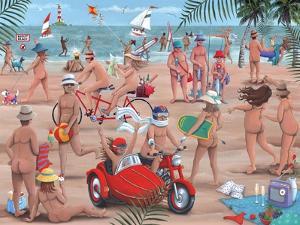 The Nudist Beach by Peter Adderley