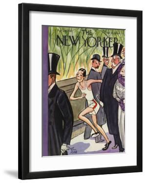 The New Yorker Cover - April 11, 1931 by Peter Arno