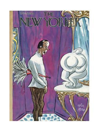 The New Yorker Cover - August 12, 1928 by Peter Arno