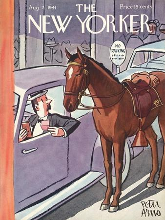 The New Yorker Cover - August 2, 1941