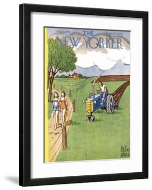 The New Yorker Cover - August 2, 1952 by Peter Arno
