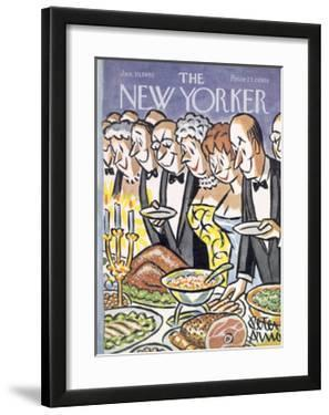 The New Yorker Cover - January 30, 1965 by Peter Arno