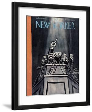 The New Yorker Cover - July 10, 1948 by Peter Arno