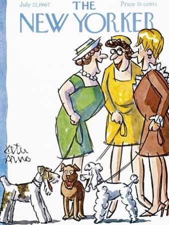 The New Yorker Cover - July 22, 1967 by Peter Arno