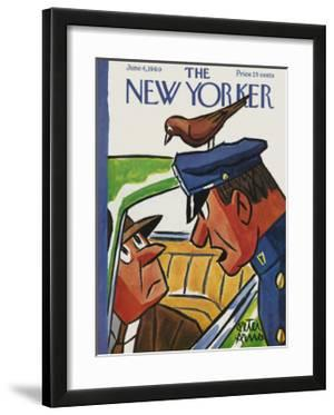 The New Yorker Cover - June 4, 1960 by Peter Arno