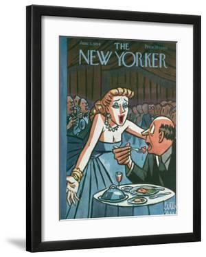 The New Yorker Cover - June 5, 1954 by Peter Arno