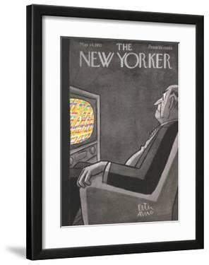 The New Yorker Cover - May 14, 1955 by Peter Arno