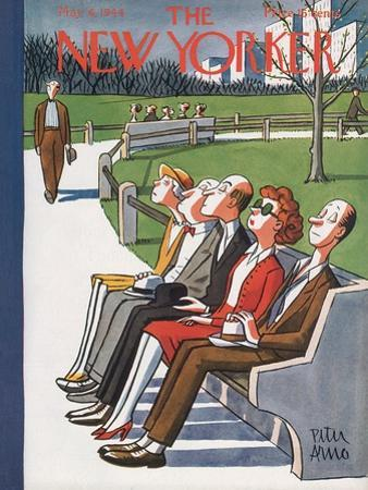 The New Yorker Cover - May 6, 1944 by Peter Arno